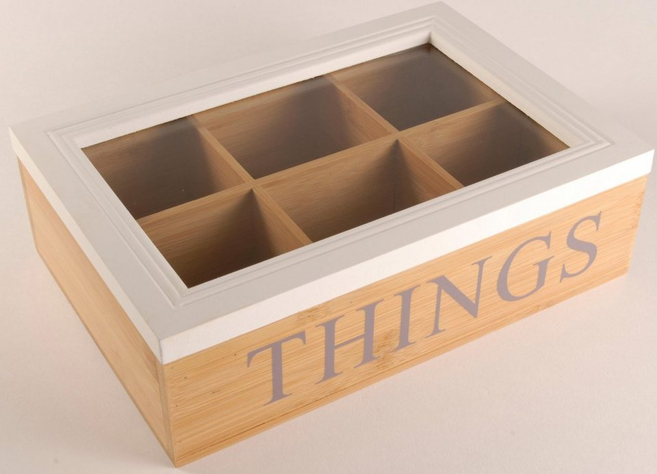 Home affaire Box »Things« in natur