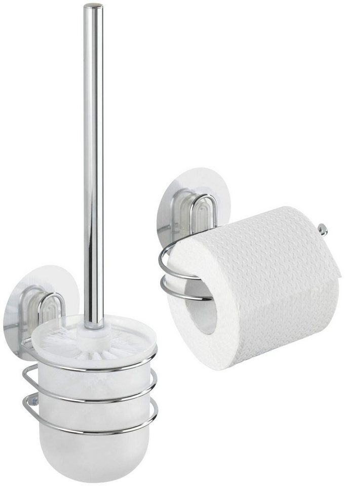WC-Garnitur »Static-Loc OSIMO« in silberfarben