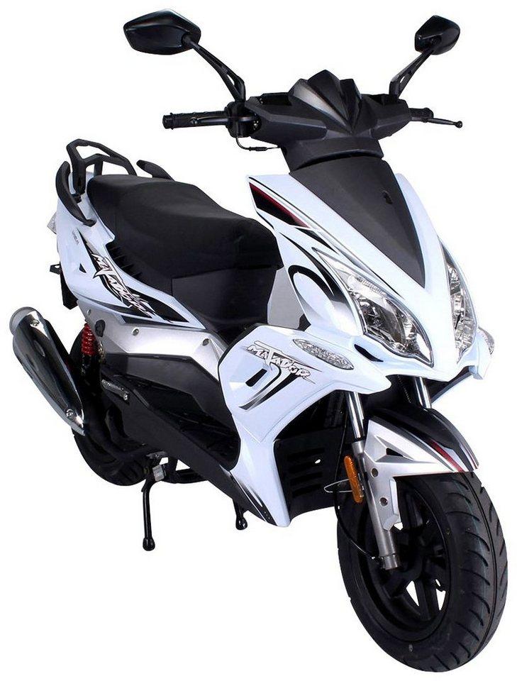 Motorroller »Matador «, 50 ccm, 85 km/h in weiß