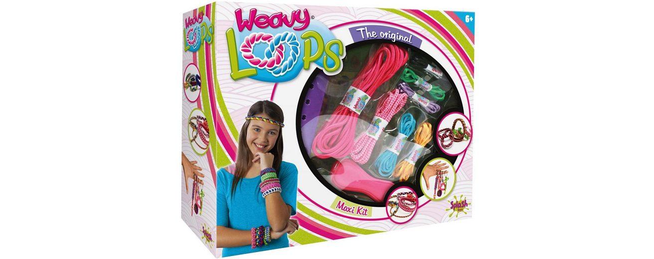Splash Toys Knüpfset, »Weavy Loops Maxi Knüpf- und Bänderset«