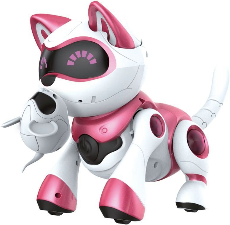 Splash Toys Elektrospielzeug, »Roboter Katze Teksta Kitty« in weiß/rosa