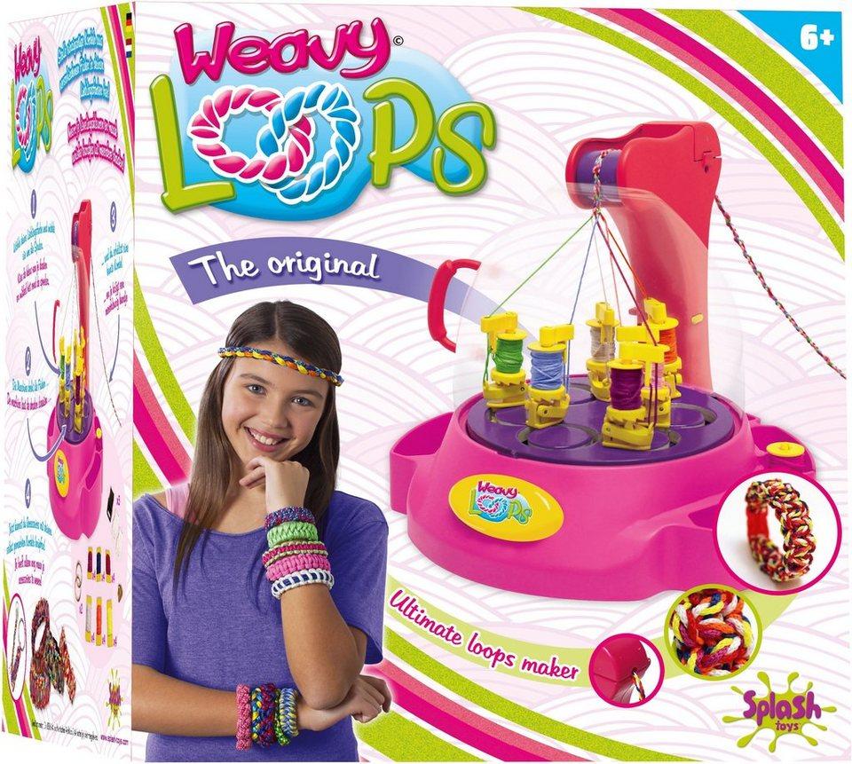 Splash Toys Knüpfmaschine, »Weavy Loops Ultimate Kordel-Maker«
