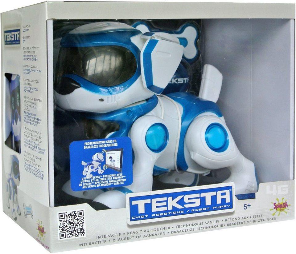 Splash Toys Elektrospielzeug, »Roboter Hund Teksta «