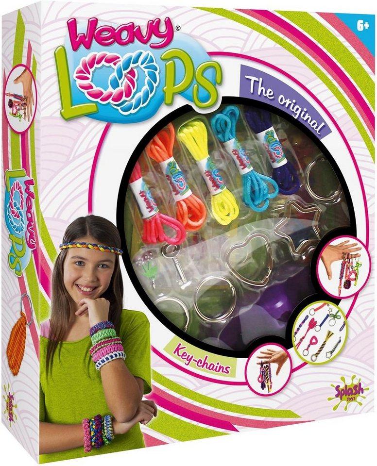 Splash Toys Kreativ Set, »Weavy Loops Key Knüpf- & Anhängerset«