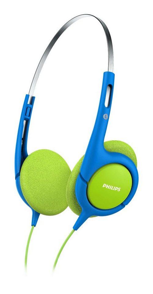 Philips Kinderkopfhörer »SHK1030/00« in blau / grün