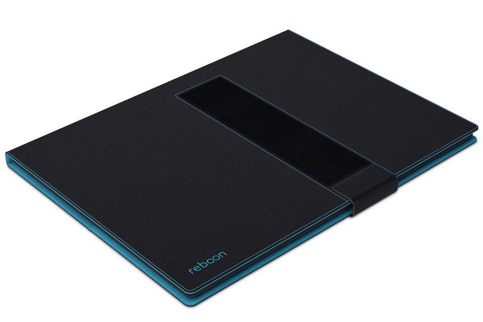 reboon Schutzhülle aus Leder für Tablet »booncover XL« in schwarz