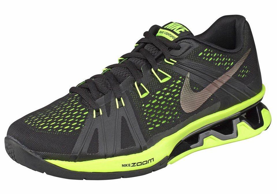 Nike Trainingsschuh »Reax Lightspeed« in schwarz-neongrün