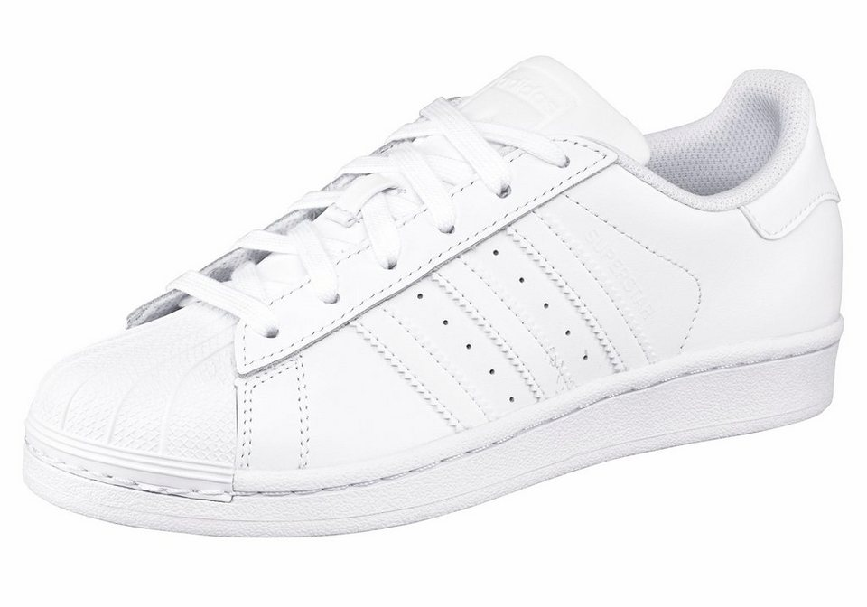 adidas Originals Superstar J Sneaker in Weiß