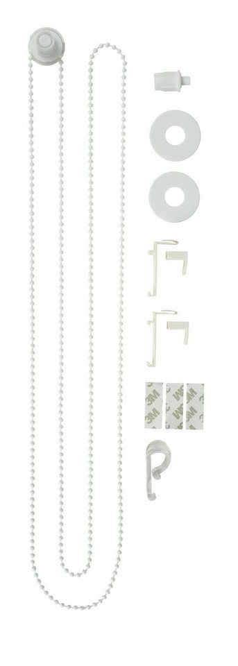 Ersatzteil-Set, my home, »Montagezubehör-Set«, für Doppelrollo in weiß