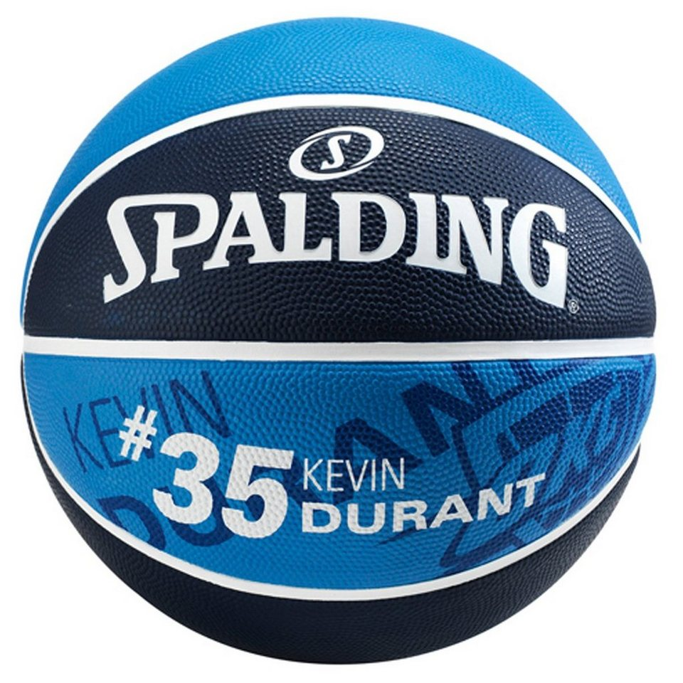 SPALDING NBA Player Kevin Durant Basketball in marine / royal