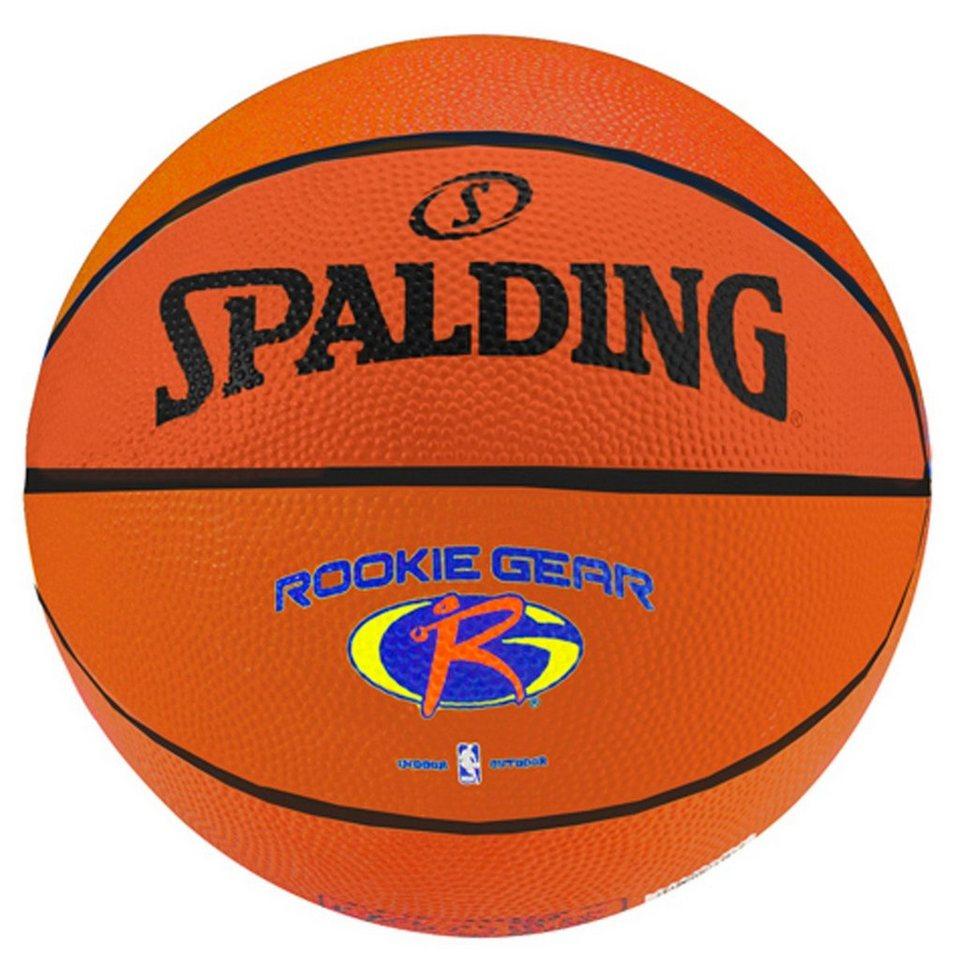 SPALDING Rookie Gear Outdoor Basketball in orange