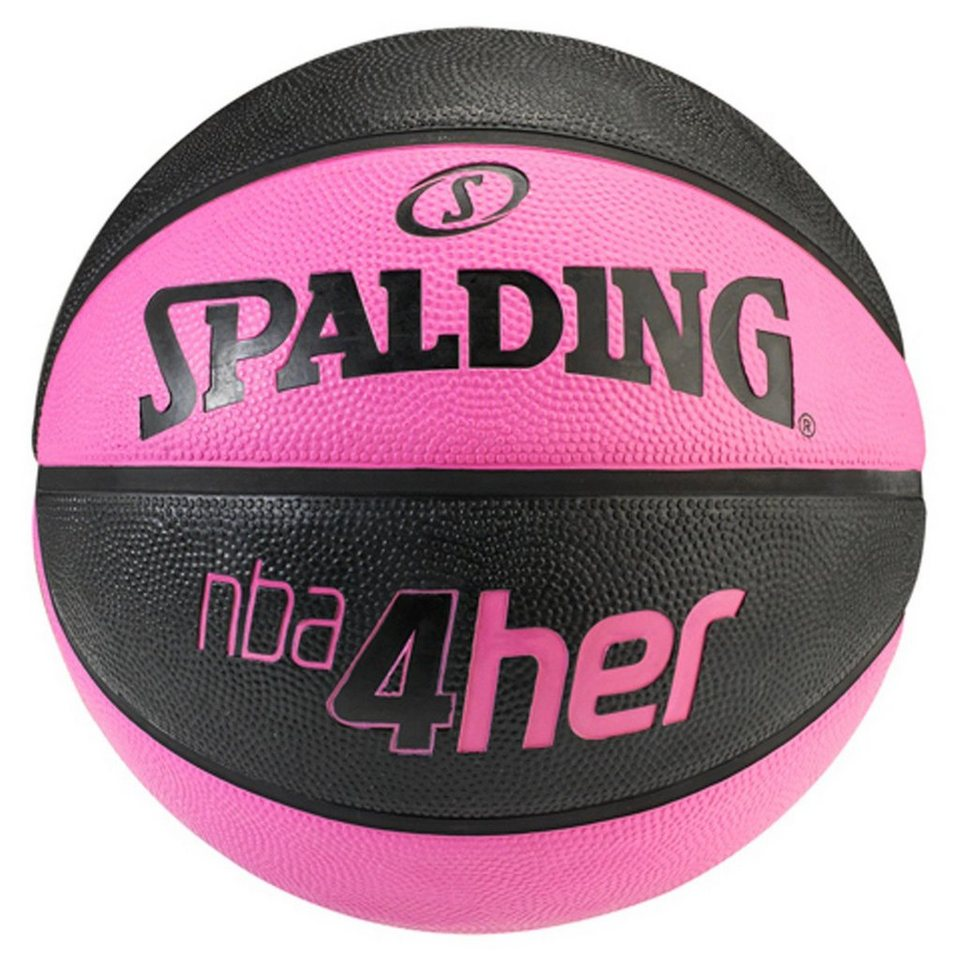 SPALDING NBA 4Her Solid Basketball Damen in schwarz / pink