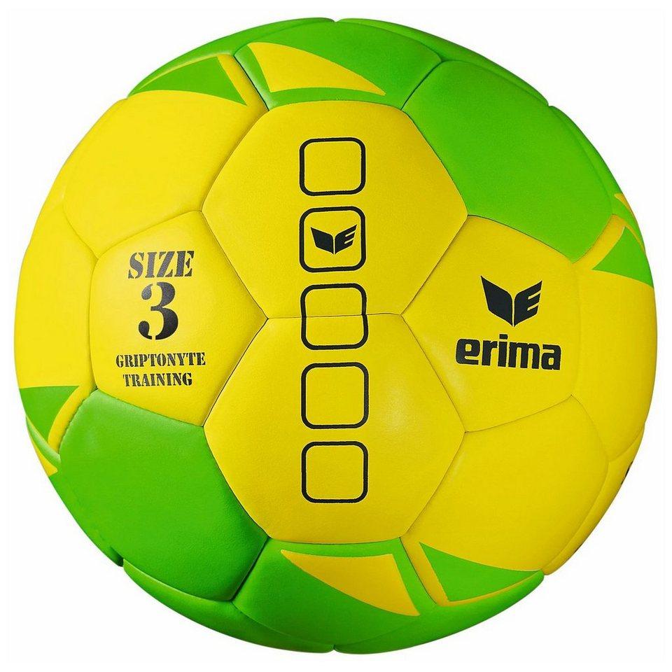 ERIMA Griptonyte Handball in gelb / grün