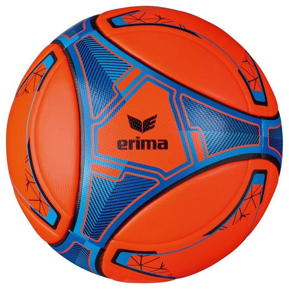ERIMA Senzor Match Evo Snow Fußball in neon orange / blau