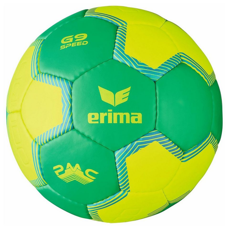 ERIMA G9 Speed Handball in neon grün / gelb