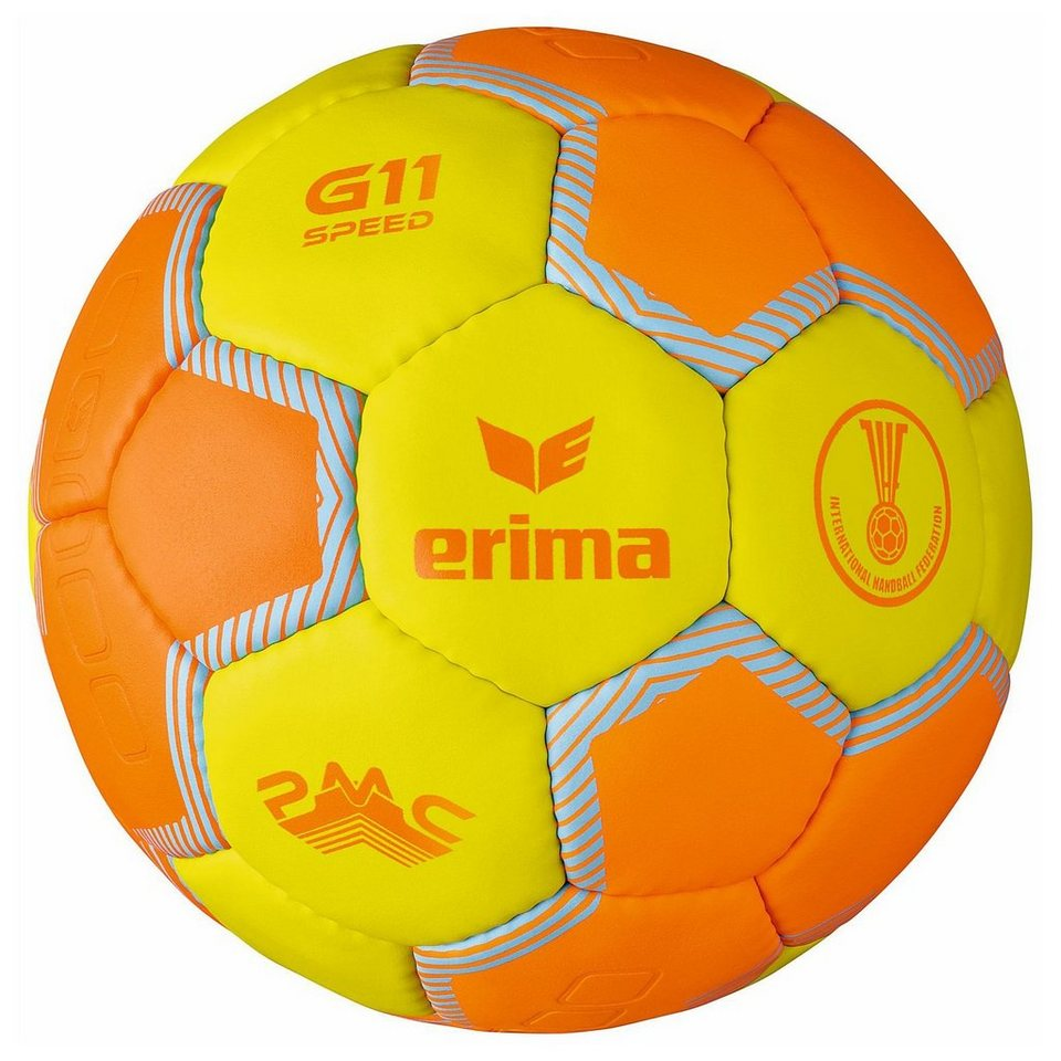 ERIMA G11 Speed Handball in gelb / orange