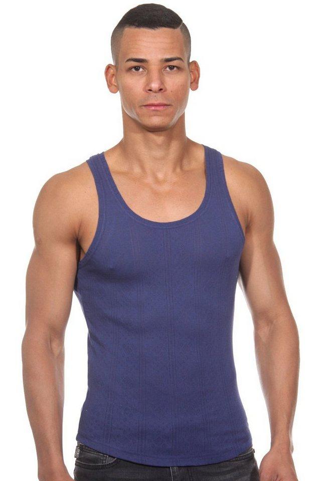 OBOY Streetwear U79 Athletikshirt in navy