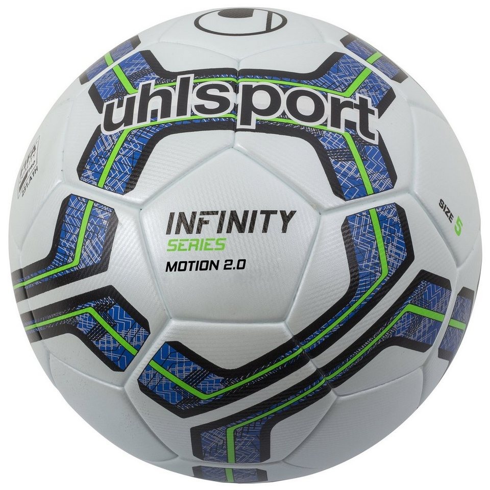 UHLSPORT Infinity Motion 2.0 Fußball in weiß / royal