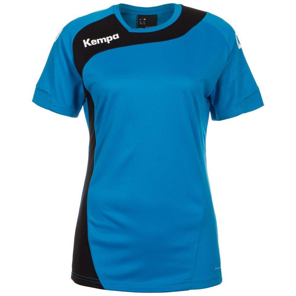 KEMPA Peak Handballtrikot Damen in kempablau / schwarz