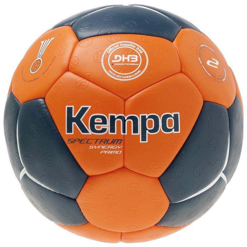 KEMPA Spectrum Synergy Primo Handball in petrol / orange