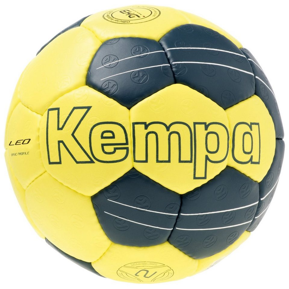 KEMPA Leo Basic Profile Handball in gelb / petrol