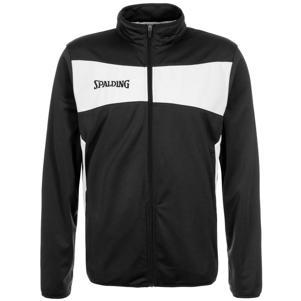 SPALDING Evolution II Classic Trainingsjacke Herren in schwarz / weiß