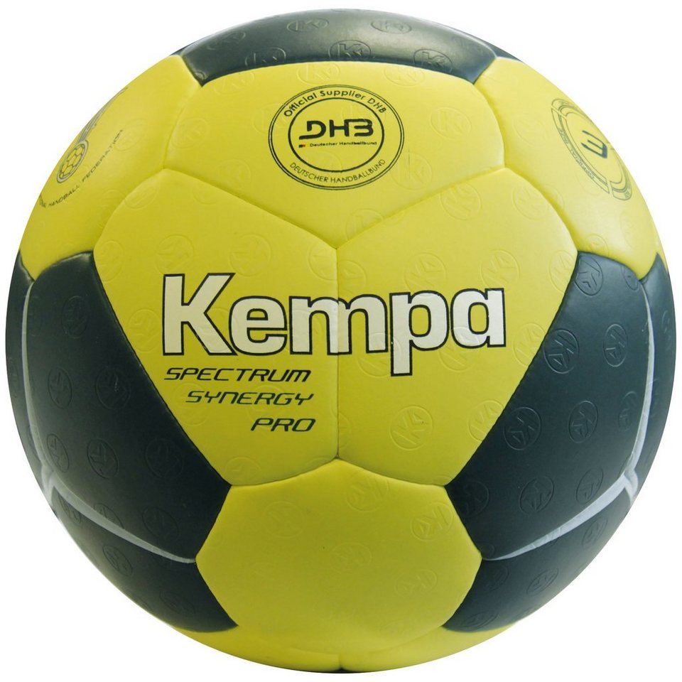 KEMPA Spectrum Synergy Pro Handball in petrol / gelb