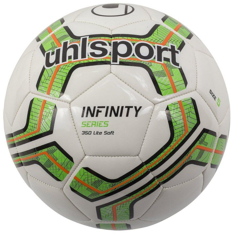 UHLSPORT Infinity 350 Lite Soft Fußball in weiß / fluo grün