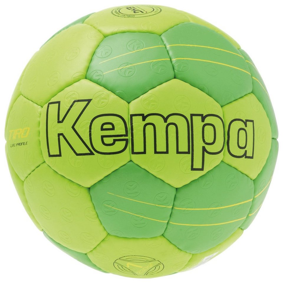 KEMPA Tiro Lite Profile Handball in fluo grün / gelb