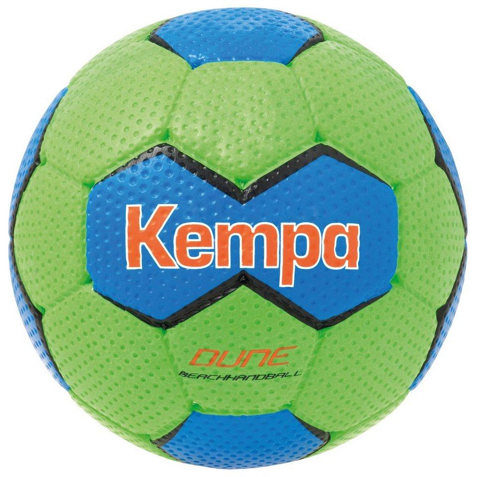 KEMPA Dune Handball in fluo grün/kempablau