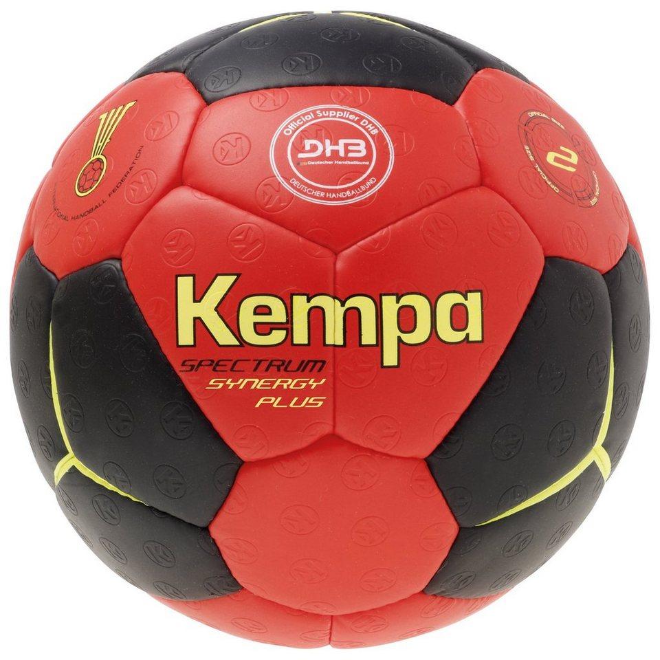 KEMPA Spectrum Synergy Plus Handball in schwarz / rot / gelb
