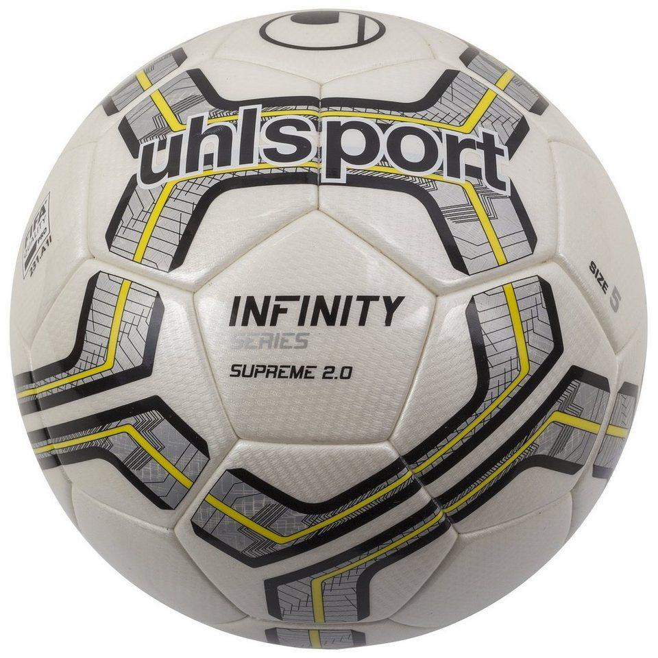 UHLSPORT Infinity Supreme 2.0 Fußball in weiß / silber