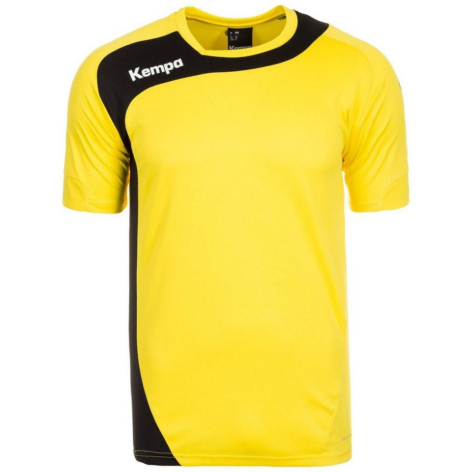 KEMPA Peak Handballtrikot Herren in gelb / schwarz