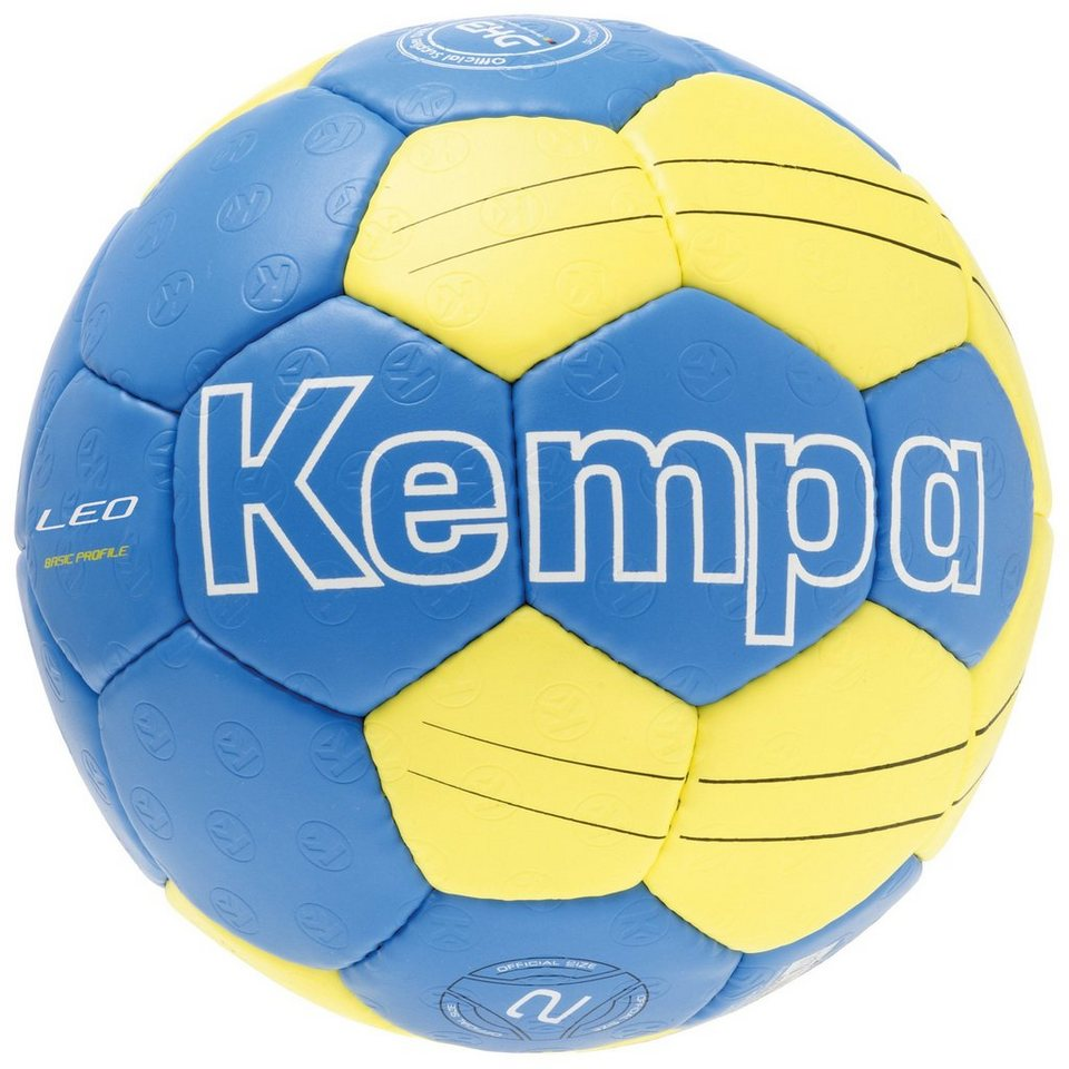 KEMPA Leo Basic Profile Handball in kempablau / gelb