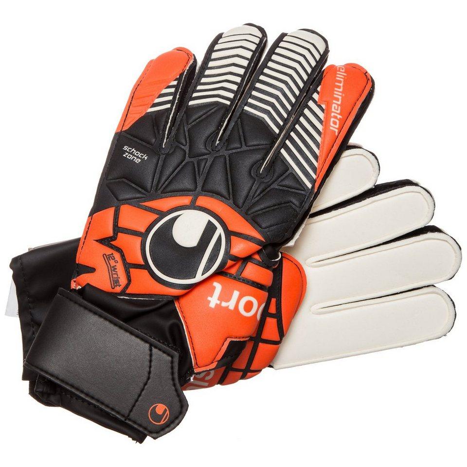 UHLSPORT Eliminator Soft Advanced Torwarthandschuh Herren in schwarz / orange
