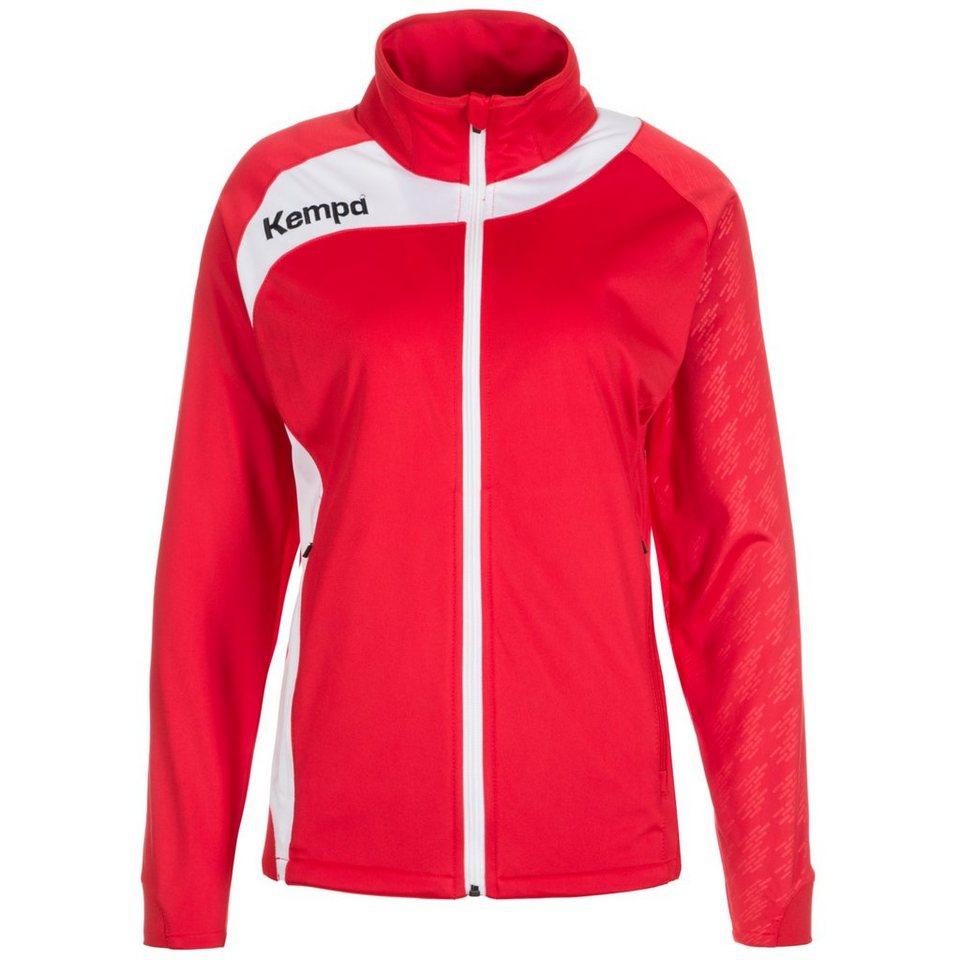 KEMPA Peak Multi Trainingsjacke Damen in rot / weiß