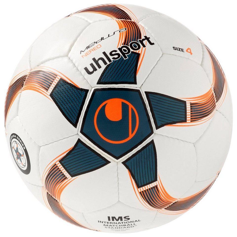 UHLSPORT Medusa Nereo Fußball in weiß / petrol