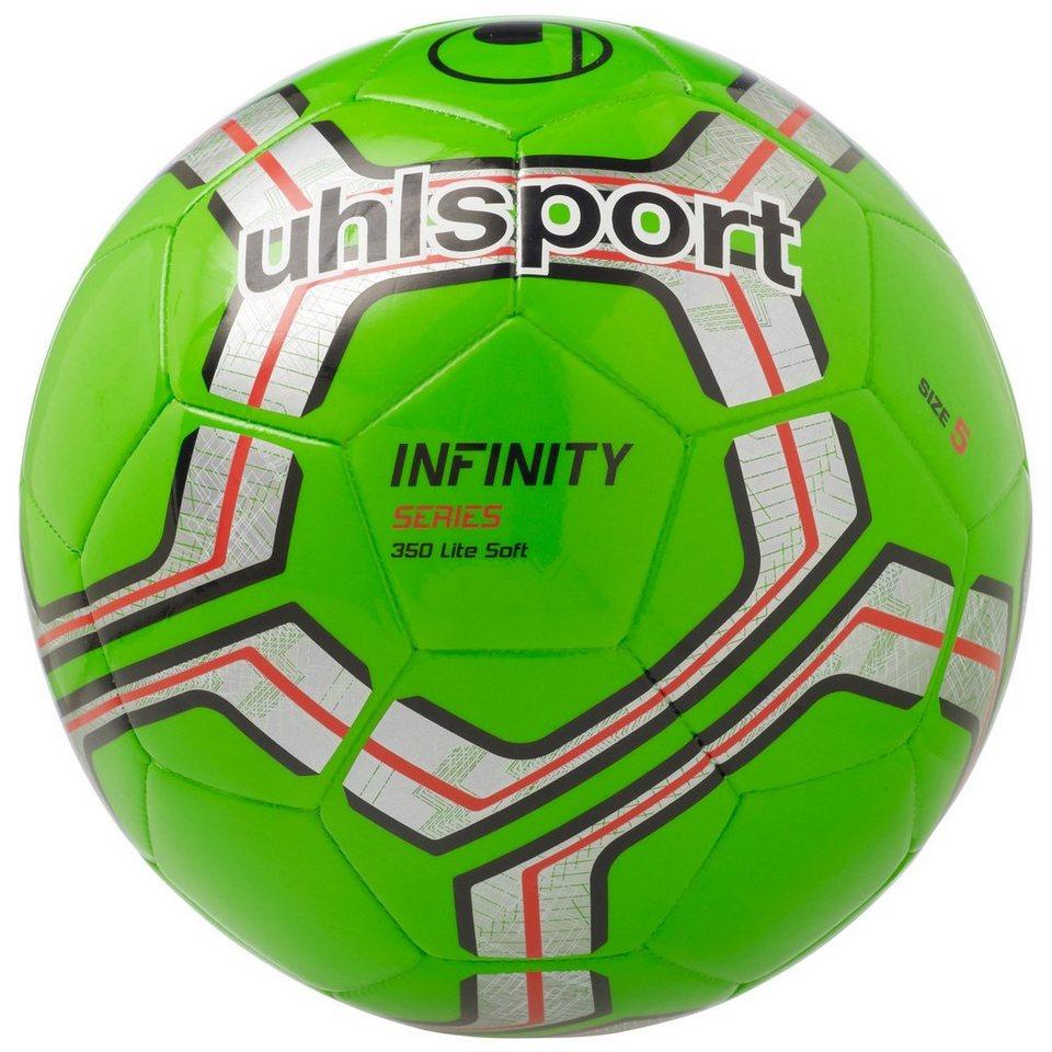 UHLSPORT Infinity 350 Lite Soft Fußball in fluo grün / silber