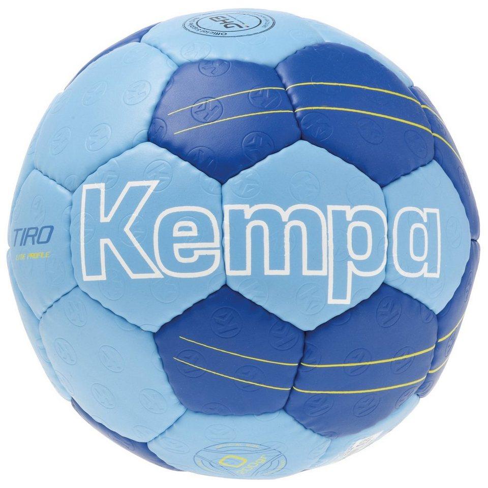 KEMPA Tiro Lite Profile Handball in blau / royal / gelb