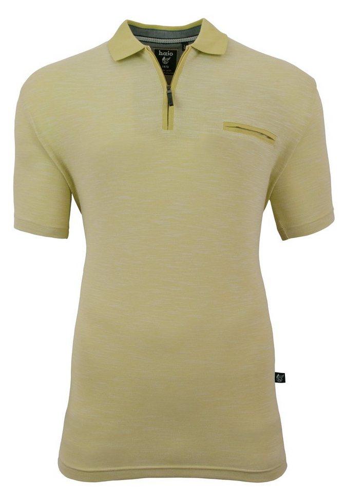 Hajo Pikee-Poloshirt in pistazie