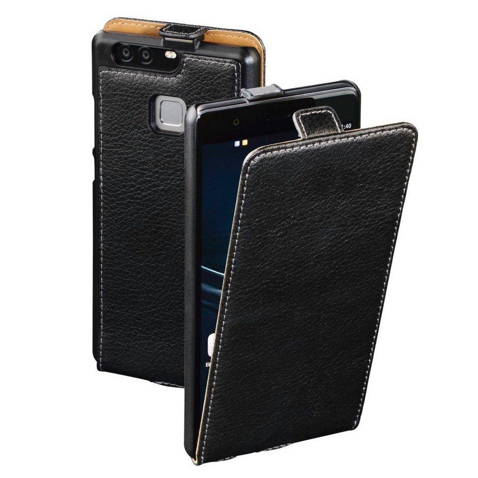 Hama Flap-Tasche Smart Case für Huawei P9, Schwarz in Schwarz
