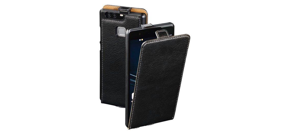 Hama Flap-Tasche Smart Case für Huawei P9 Plus, Schwarz