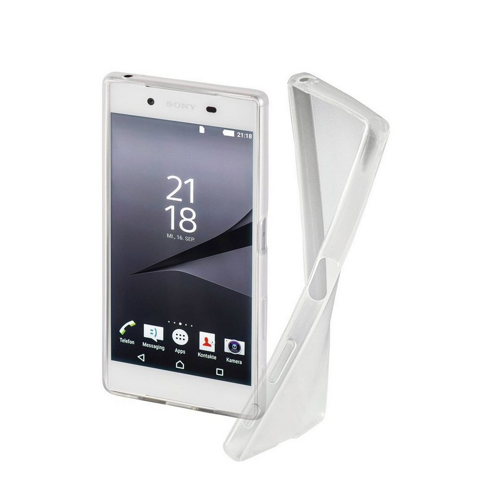 Hama Cover Crystal Clear für Sony Xperia X, Transparent in Transparent