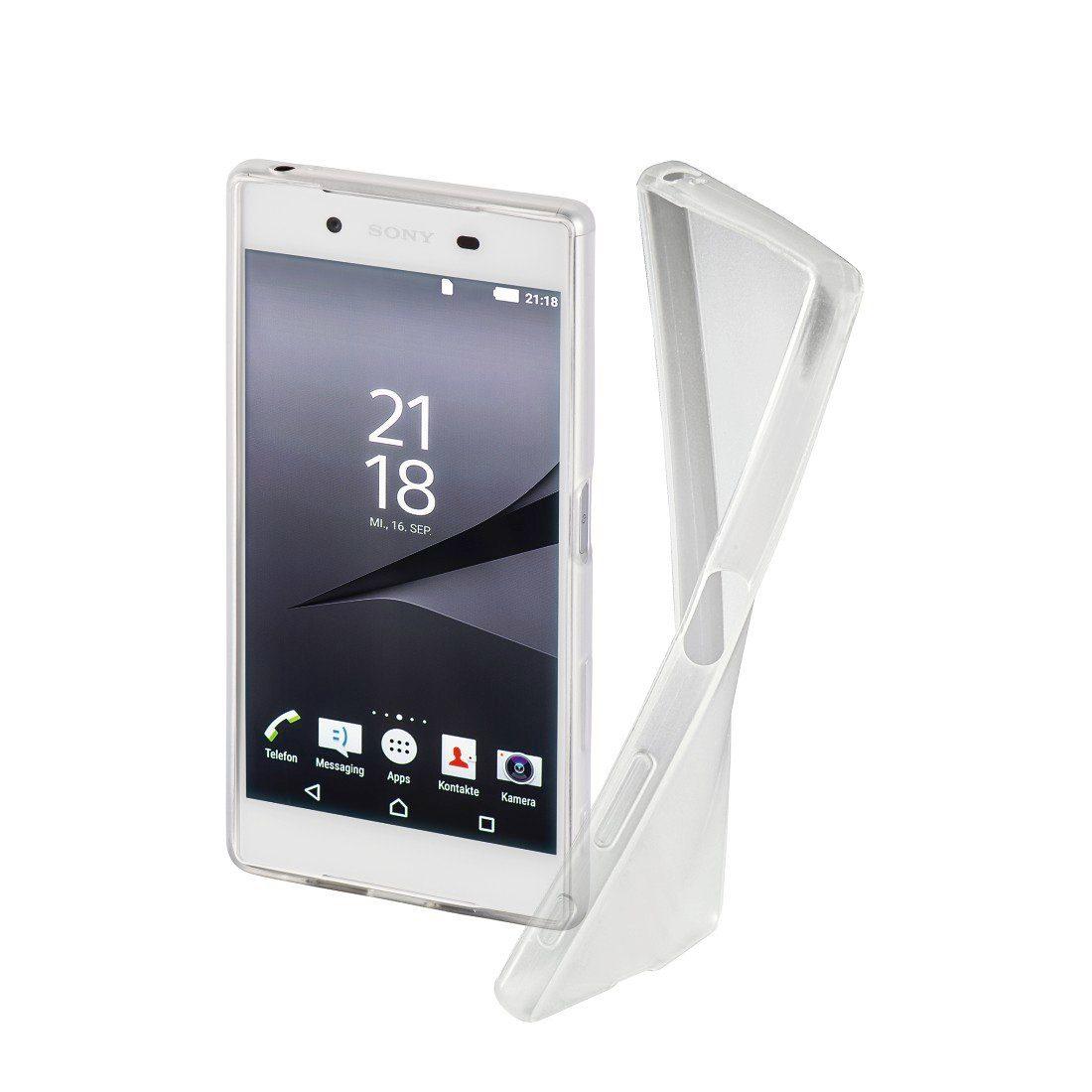 Hama Cover Crystal Clear für Sony Xperia X, Transparent