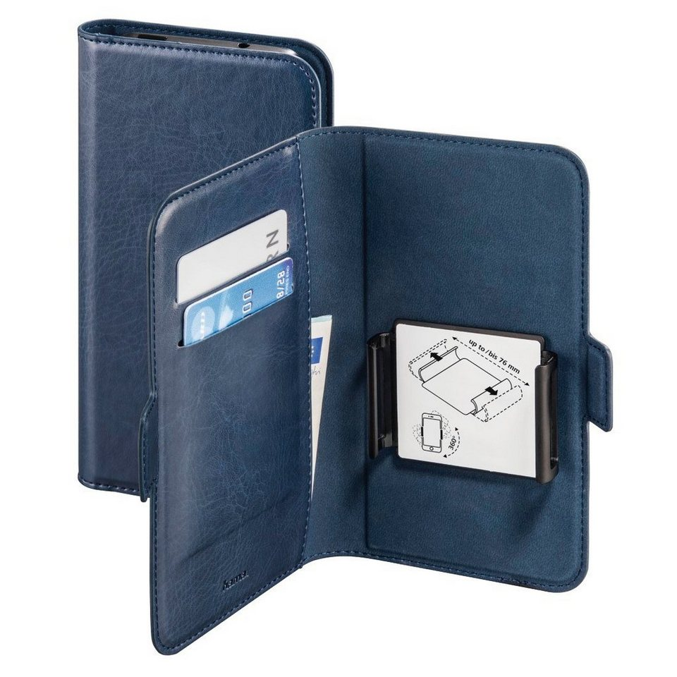 Hama Handytasche Handyhülle universal Tasche Hülle Smart Move »für Handys von 4 - 4,5 Zoll« in Blau