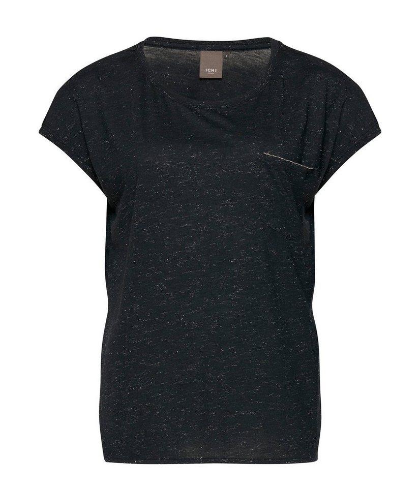 ICHI Shirts in Schwarz