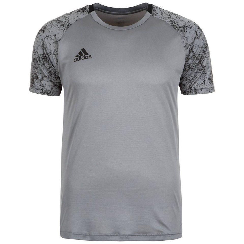 adidas Performance UFB ClimaCool Trainingsshirt Herren in grau / schwarz