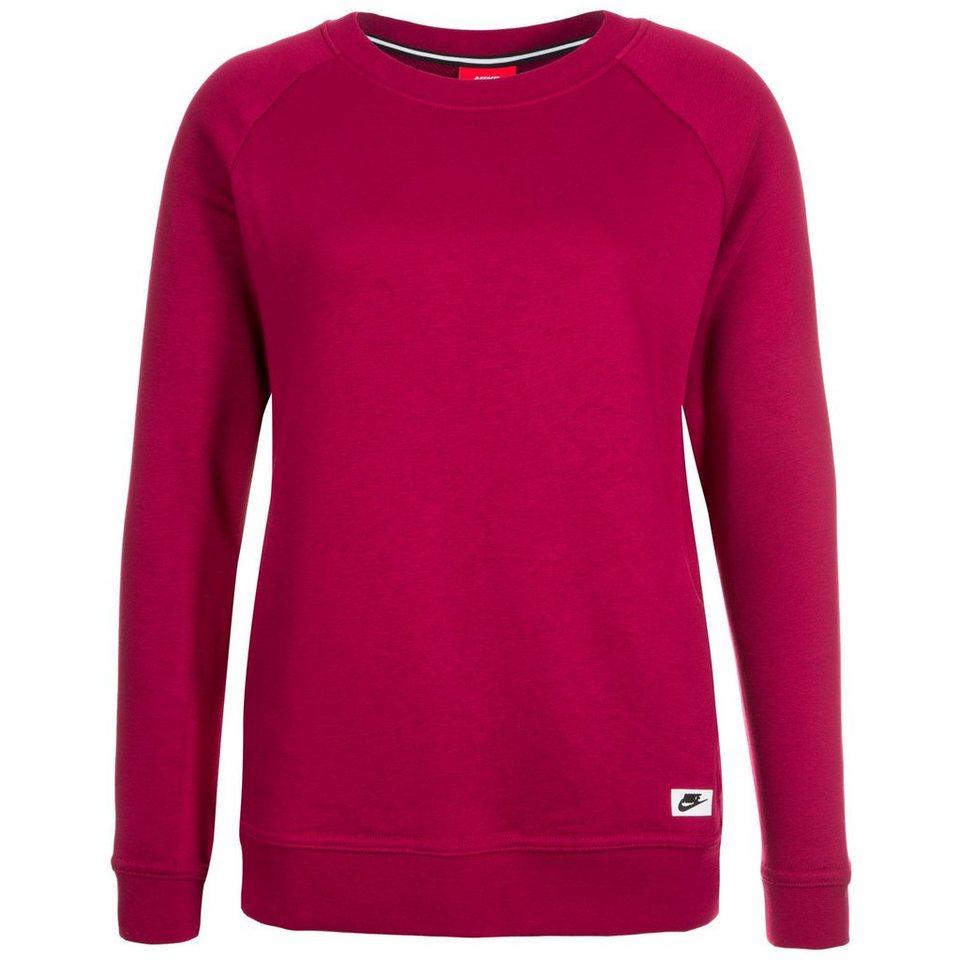 Nike Sportswear Modern Crew Sweatshirt Damen in bordeaux