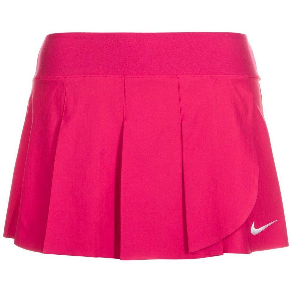 NIKE Power Premier Tennisrock Damen in pink