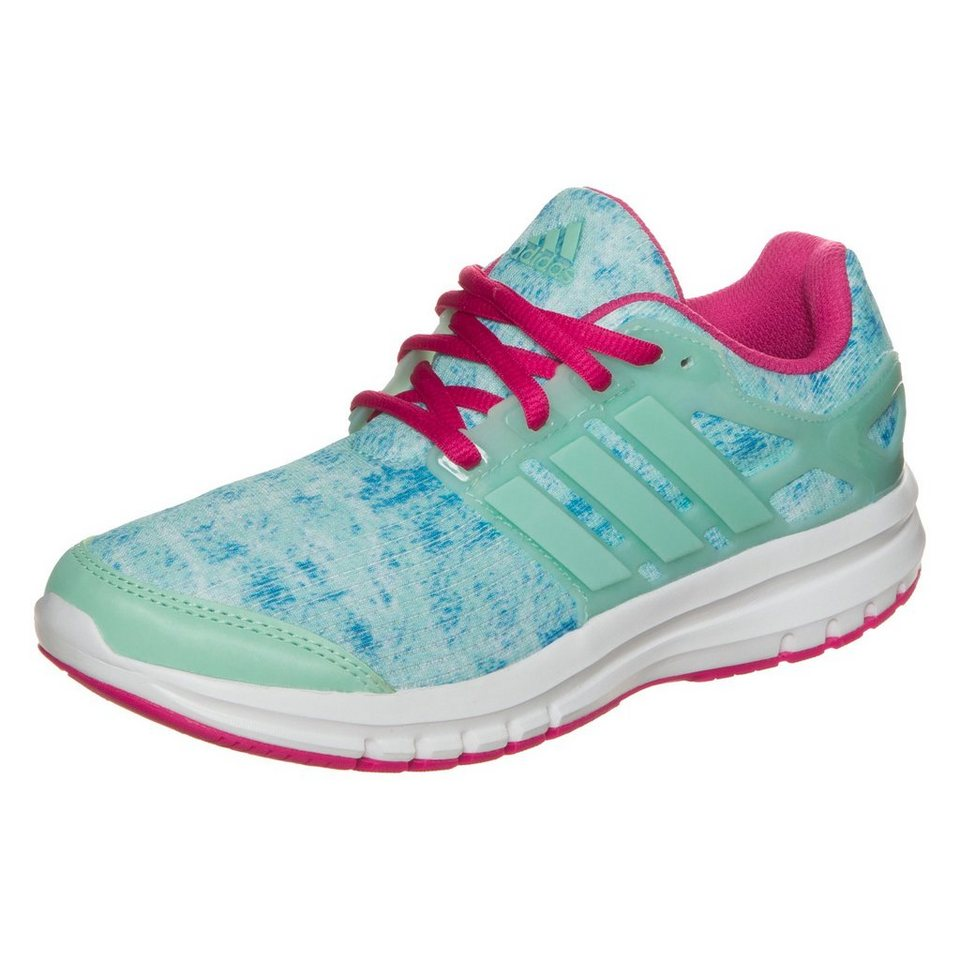 adidas Performance Energy Cloud Laufschuh Kinder in mint / blau / pink